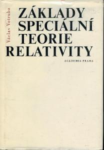 Václav Votruba: Základy speciální teorie relativity