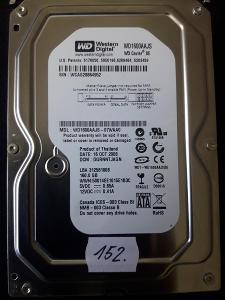 Harddisk HDD Western Digital WD1600AAJS 160GB SATA (152..)