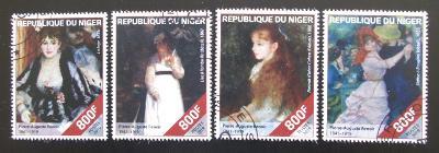 Niger 2019 Umění, Pierre-Auguste Renoir Mi# N/N 0103