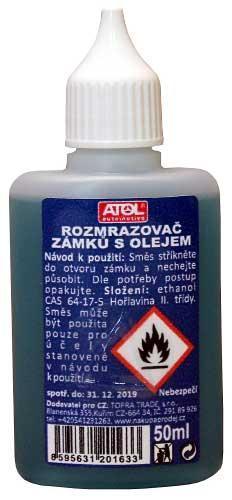 Rozmrazovač zámků s olejem 50ml (11)