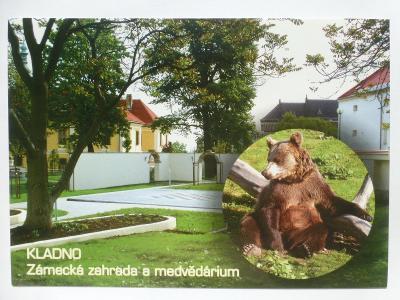 Kladno - zámek - medvěd