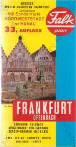 Falkplan Frankfurt