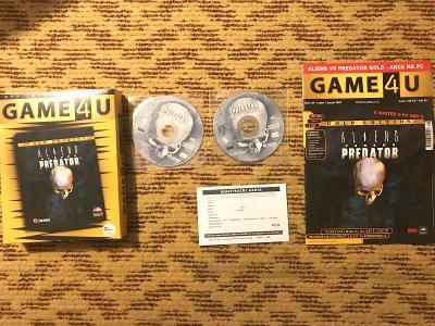 Aliens versus Predator BIG BOX CZ manuál edice GAME4U