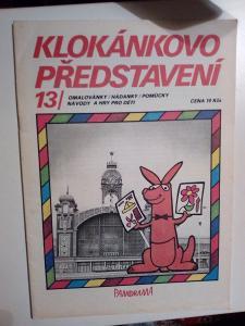 Starý časopis, Klokánkovo představní, č. 13, pěkný stav