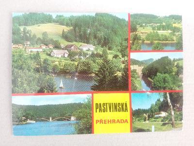 přehrada PASTVINY - okr. Ústí nad Orlicí, Orlické hory CHKO