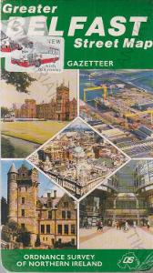 Greater Belfast Street Map - Severní Irsko