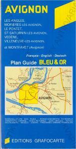 Avignon - mapa