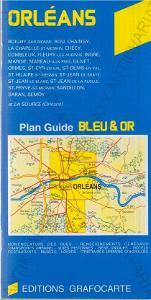 Orléans mapa