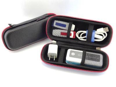 pouzdro organizér - flashky nabíječky kabely sluchátka psací potřeby