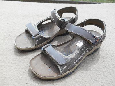 Nové pánské kožené sandály zn. Weinbrenner  vel. 46