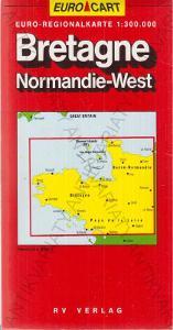 Euro-Kart Bretagne (Bretaň) mapa