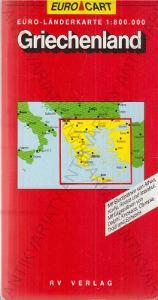 Euro-Kart Griechenland (Řecko) mapa