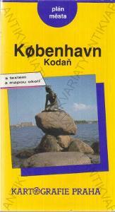 Kobenhavn (Kodaň)- plán města