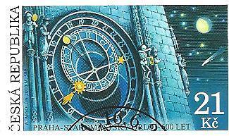 600. v. Starom. orloje 2010, raž. zn. sm. s raz. FDC, NL. k.č. 640.