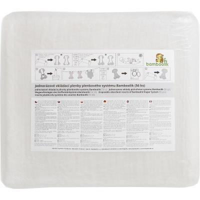 Jednorázové vkládací kojenecké pleny BAMBOOLIK SAP