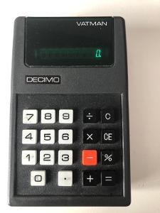 Kalkulačka VATMAN DECIMO