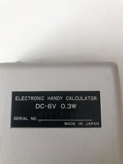 Kalkulačka VATMAN DECIMO - Historické počítače