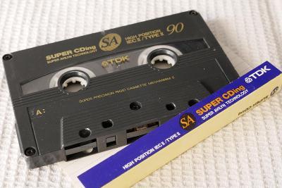 Audio Kazeta TDK SA 90 Super CDing