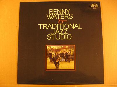 Waters Benny & Traditional Jazz Studio 1976 LP stereo