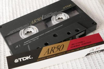 Audio Kazeta TDK AR 50