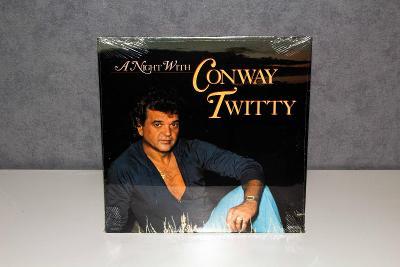 CONWAY TWITTY - A NIGHT WITH (zapečetěné LP)