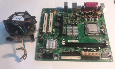 Intel® Desktop Board D102GGC + processor
