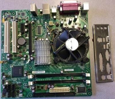 Intel® Desktop Board D945GCNL + processor