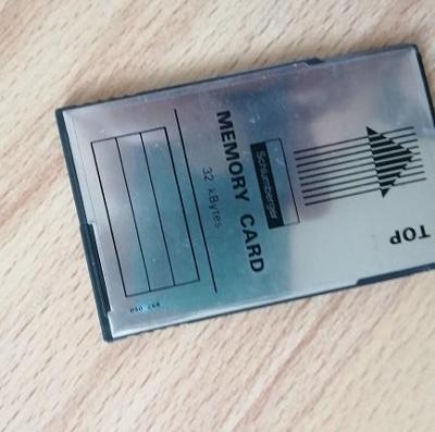 MEMORY CARD, 32KB