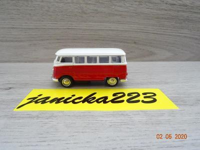 Volkswagen Bus T1 červenobílí 1:64
