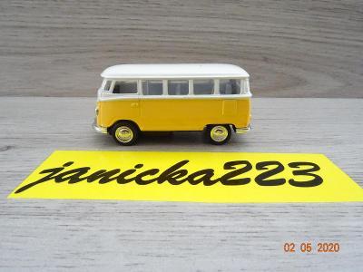 Volkswagen Bus T1 žlutoobílí 1:64
