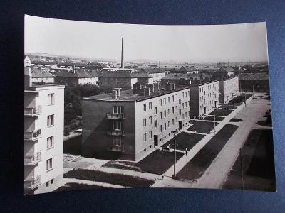 Brno venkov Modřice 4 sídliště zástavba