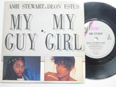 SP AMII STEWART + DEON ESTUS - My Guy My Girl / Bring It On Back To Me