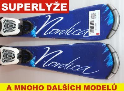 Dětské lyže NORDICA LITTLE BELLE 90cm rok 2016