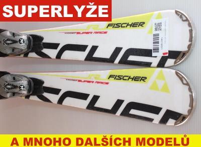 Dětské lyže FISCHER SUPER RACE JR 110cm rok 2014