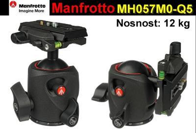 💥 Stativová hlava: Manfrotto kulová hlava MH055M0-Q5*Nosnost:12kg*TOP