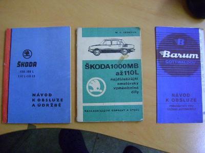 Škoda MB 1000 a 100, dvě knihy