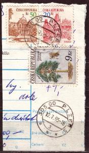 BALÍKOVÁ PRŮVODKA - VYPLACENO POF. 19 - DV 48/2 (T9818)