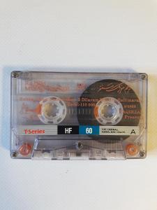 Audio Kazeta T-SERIES HF C-60 Music Center 1997 2ks MC
