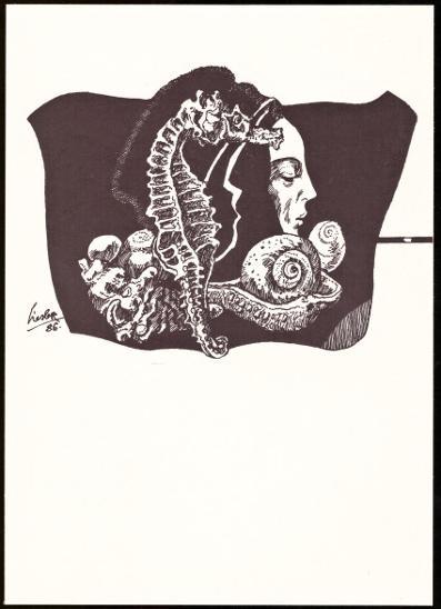 GRAFICKÝ LIST J. LIESLER (T9826) - Filatelie