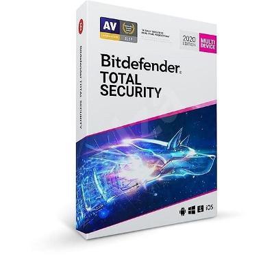 Antivirus Bitdefender Total Security 2020 - Licence 3 měsíce - 5PC