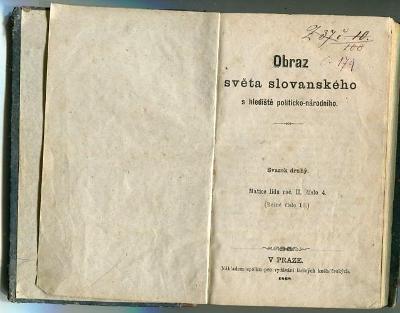 Obraz světa slovanského s hlediště politicko - národního - 1868
