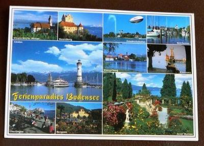 @ Německo Bodensee okénková