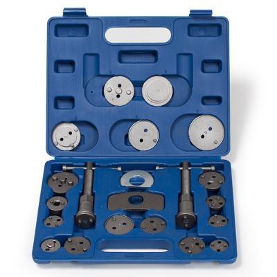 tectake 400852 sada na montáž kotoučových brzd 22 dílná - modrá