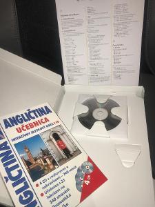 ANGLIČTINA - 4CD, kniha, gramatika / Slovensky