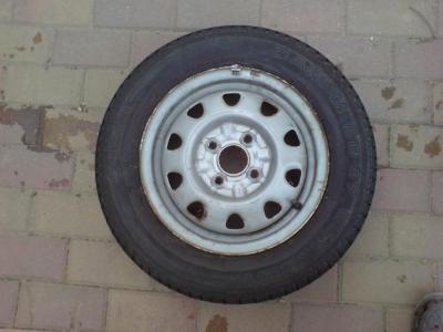 Letní pneu, 165/70/13 Barum Economy + disk VW