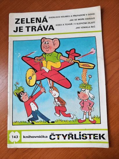 čtyřlístek č. 143 - zelená je tráva - Komiksy