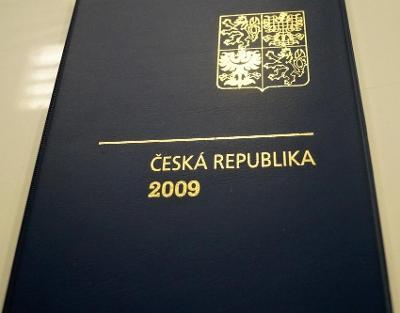 ROČNÍKOVÉ ALBUM 2009 - ČERNOTISK PTR 17, BEZ ZNÁMEK (T9866)