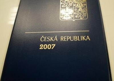 ROČNÍKOVÉ ALBUM 2007 - ČERNOTISK PTR 15, BEZ ZNÁMEK (T9867)
