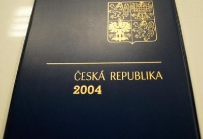 ROČNÍKOVÉ ALBUM 2004 - ČERNOTISK PTR 12, BEZ ZNÁMEK (T9868)