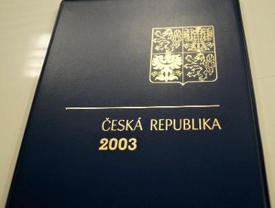 ROČNÍKOVÉ ALBUM 2003 - ČERNOTISK PTR 11, BEZ ZNÁMEK (T9869)